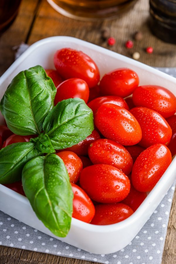 tomatoes, vegetables, food